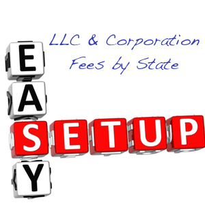LLC Fees by State